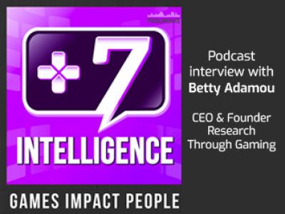Betty Adamou interviewed by the +7 Intelligence podcast
