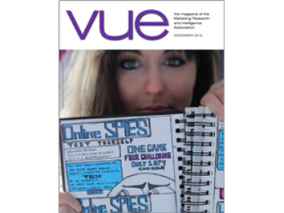 Featured article in VUE magazine