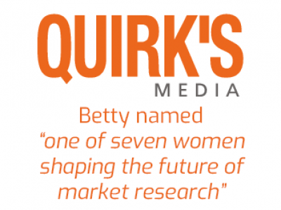 Betty Adamou QUIRKS game gamification market research data