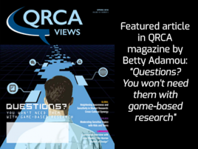 Featured article for QRCA magazine