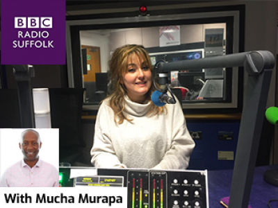 Mucha Murapa BBC Radio Suffolk